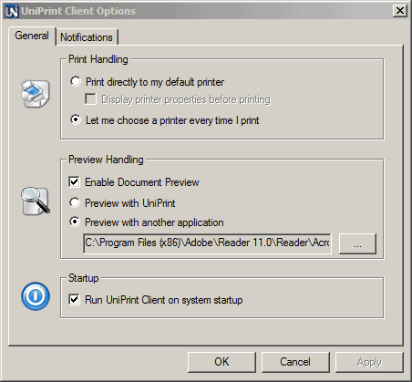 uniprint5-settings