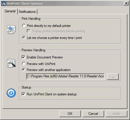 uniprint5-settings